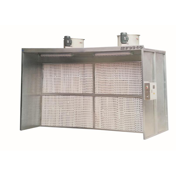 Water Curtain Spraying Booth MF9340