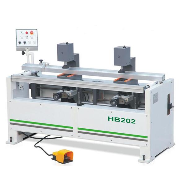 Double Heads Hinge Drilling Machine   HB202
