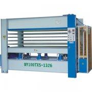 Hot Press Machine 5 Layers   BY100TX5-1326